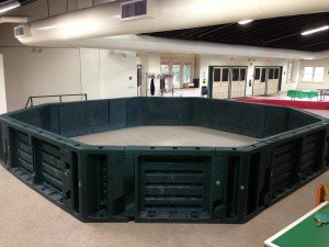 Another Hunter Green gaga pit!