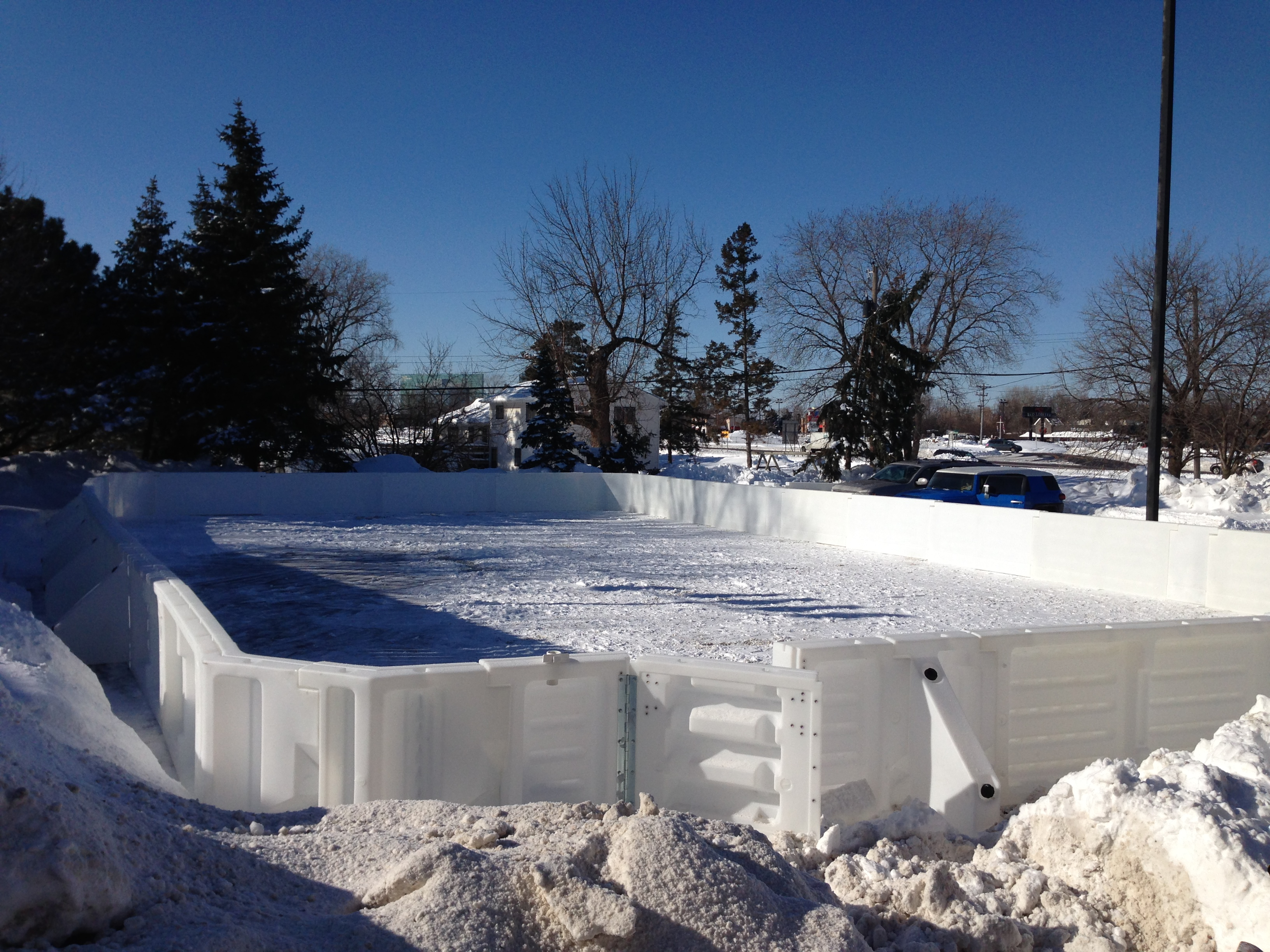 Minnesota Backyard Rink KARE 11 Rink ...